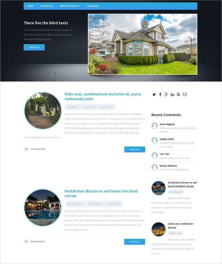 house marketing free wordpress theme1