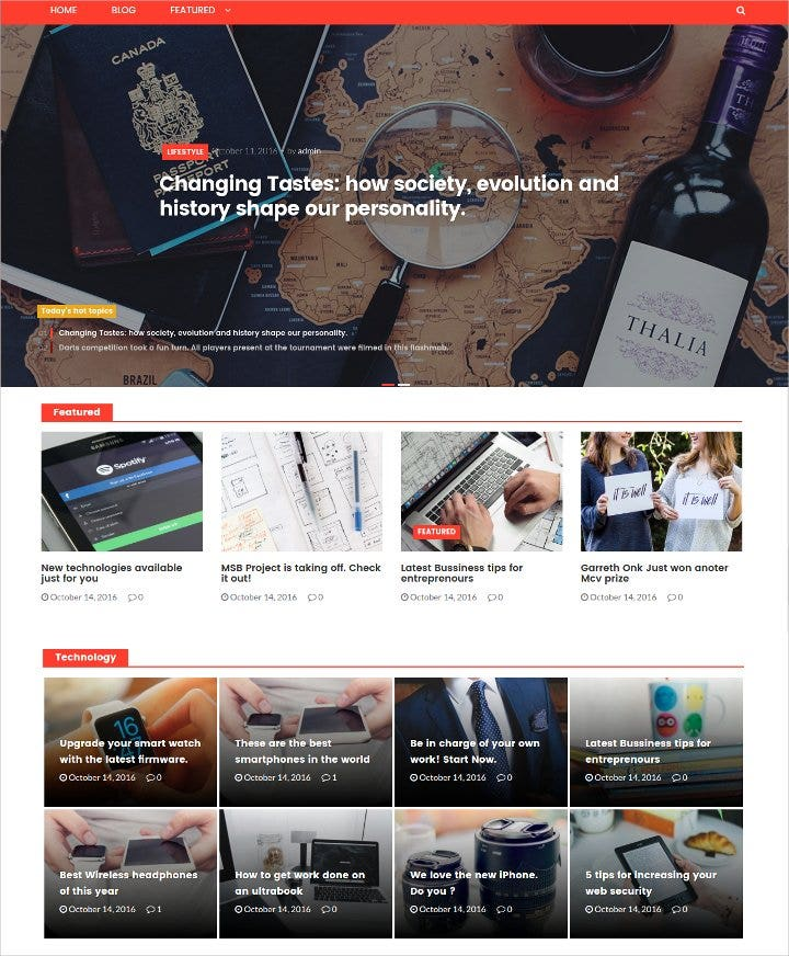 modern news magazine wordpress theme21