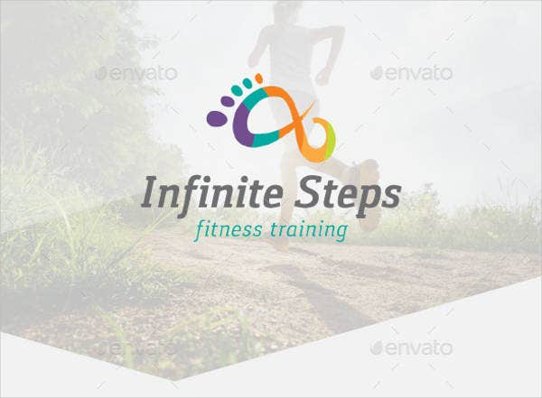 Fitness Program Training Logo