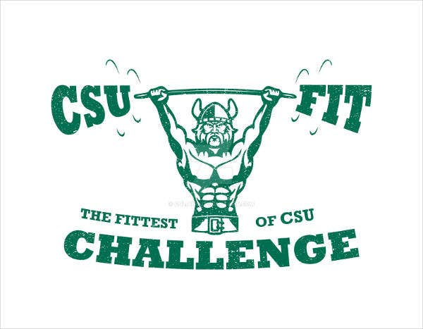 Fitness Challenge Team Logo