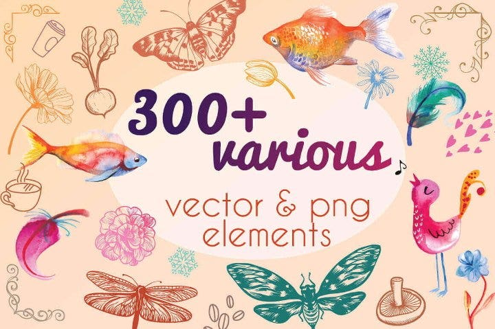 colorful-vector-png-elements