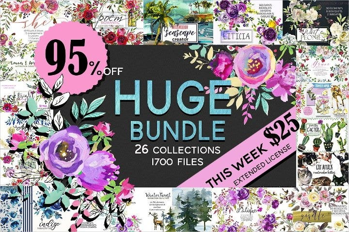 watercolor floral graphic bundle11