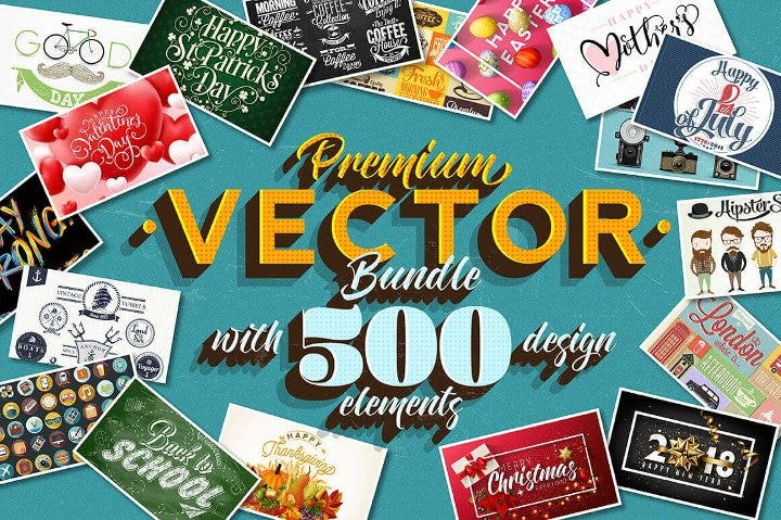 high quality vector design bundle1