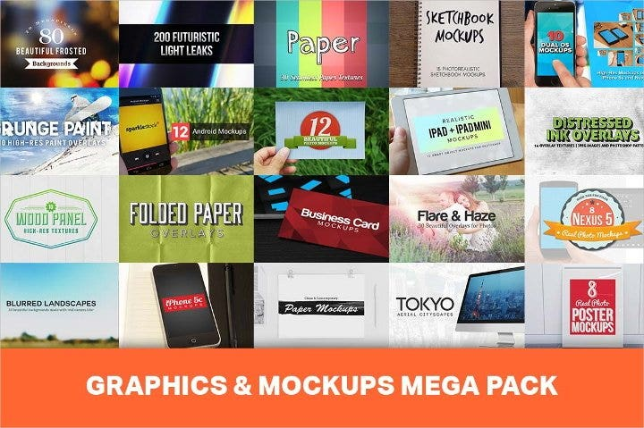 high resolution mockups bundle11
