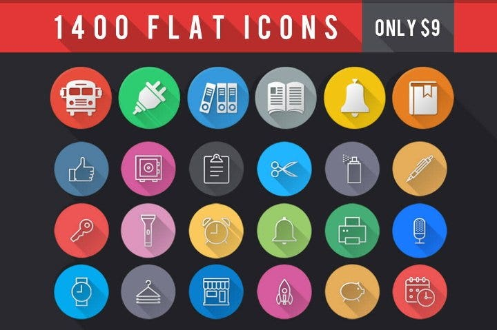flat icons bundle11