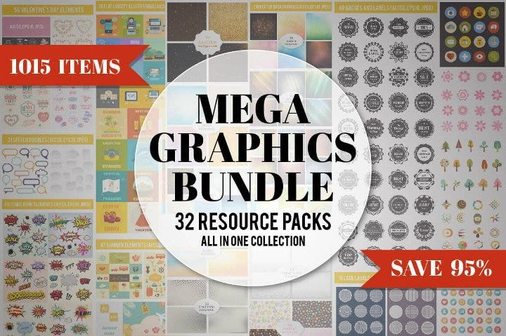 graphic design elements bundle11