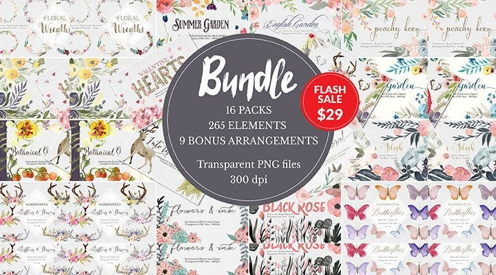 blooming watercolor bundle11
