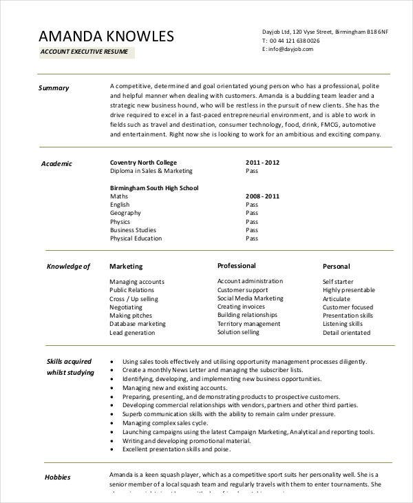 32+ Accountant Resume Samples | Free & Premium Templates