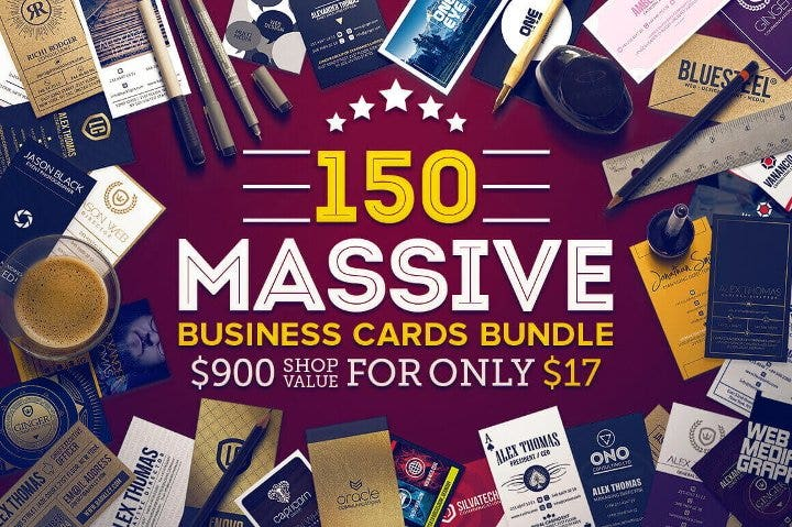 massive business cards bundle1