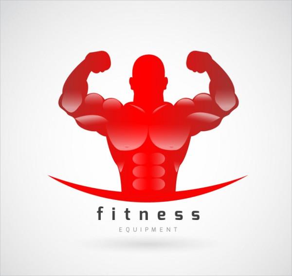 fitness gym logo vector