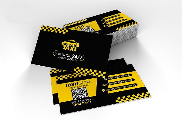 taxi-business-card-template