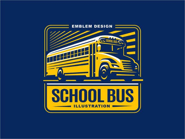 School Bus Logo