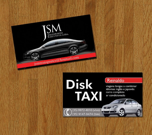 taxi-service-business-card