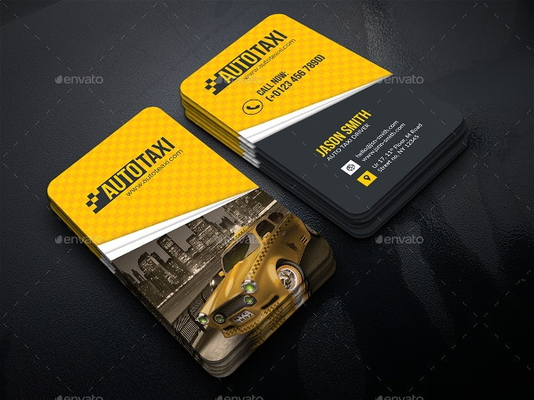 12 taxi business card templates free premium templates auto service business card colourmoves