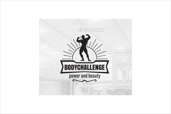 gym challenge logo