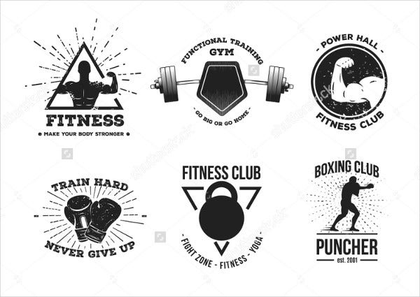 vintage-fitness-team-logo