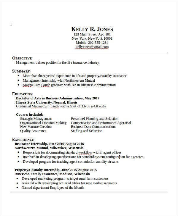 37  professional administrative resume templates