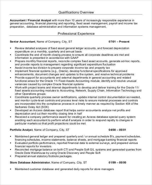 experienced accountant resume format3