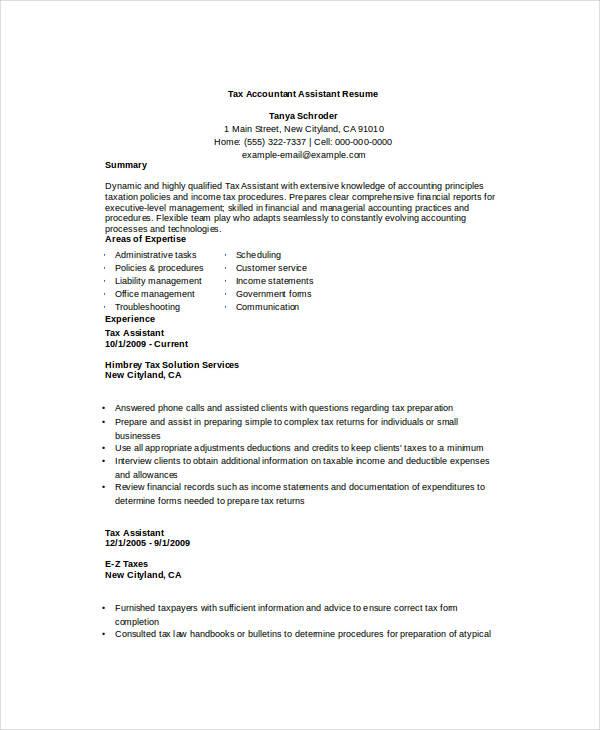 printable accountant resume templates 28 free word pdf