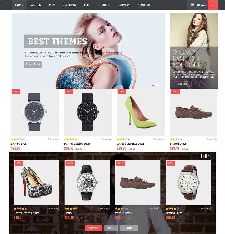 html template for fashion shop21