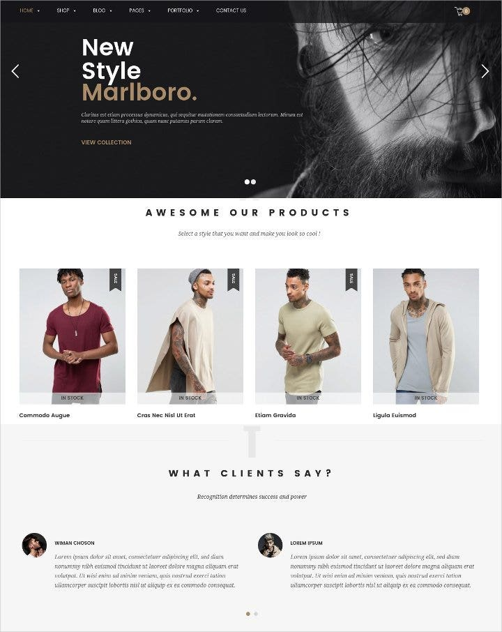 responsive woocommerce fashion theme1