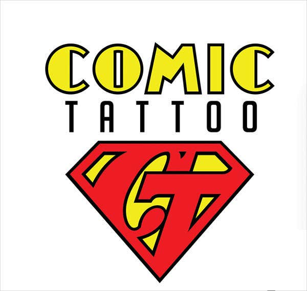Tattoo Superman Logo