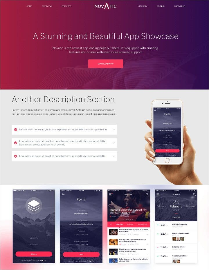 high resolution app landing page11
