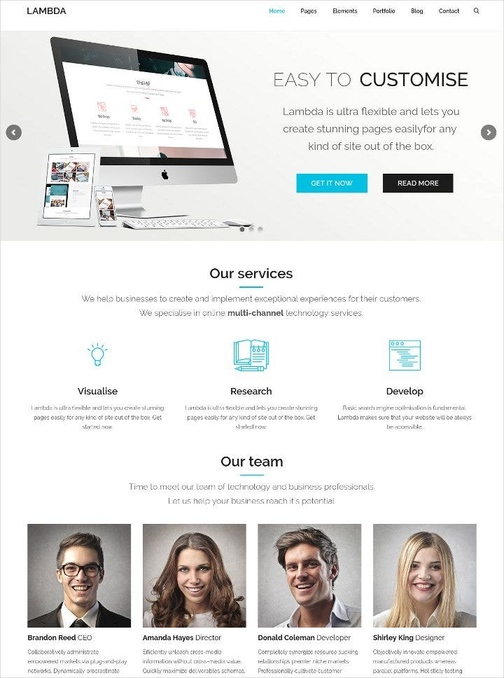 multipurpose bootstrap theme1