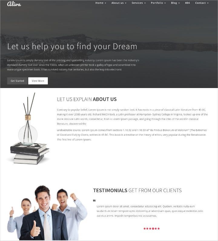 multipurpose-bootstrap-template