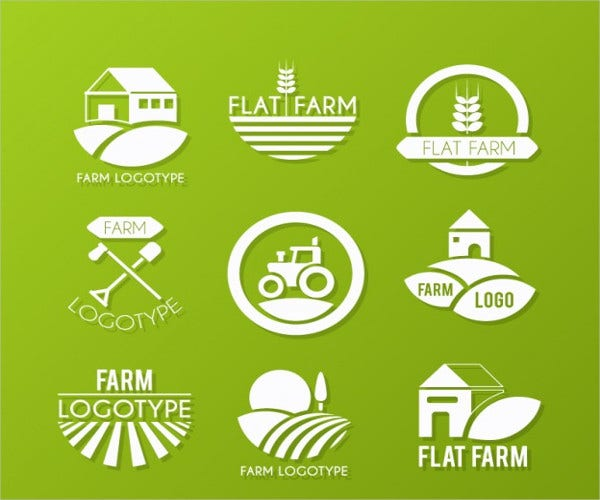 farm equipment service logo