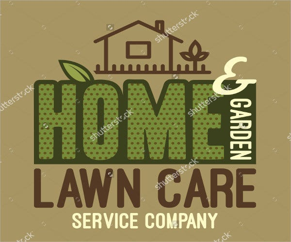 home and garden service logo
