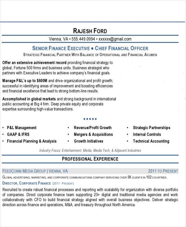 senior finance executive resume3