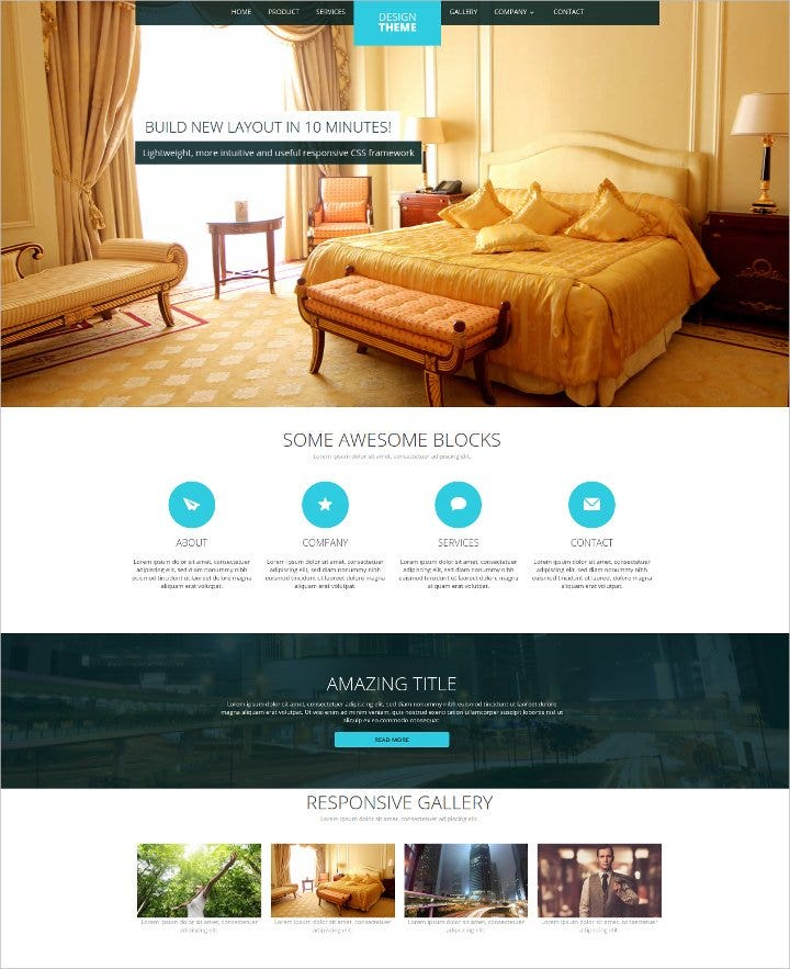 simple-html5-template