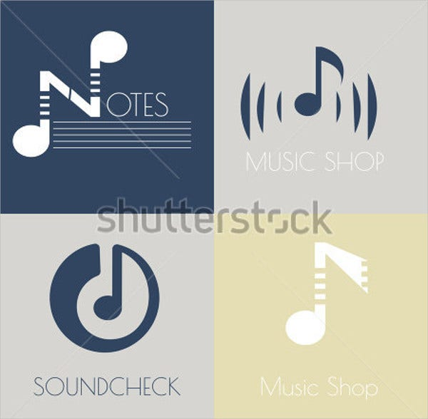 vintage-music-note-logo