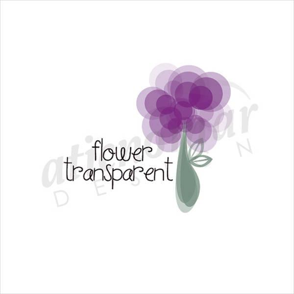 photography-transparent-flower-logo