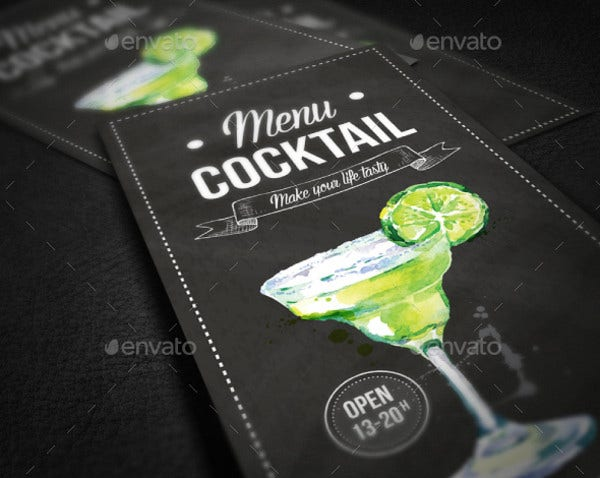 sample cocktail party menu