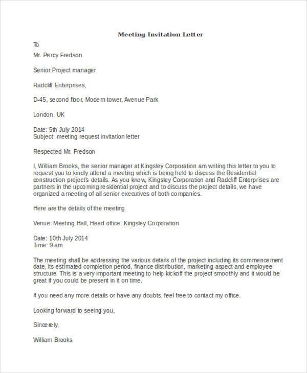 formal meeting invitation letter4
