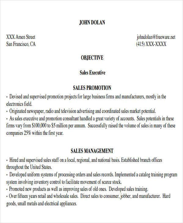 business resume pdf format