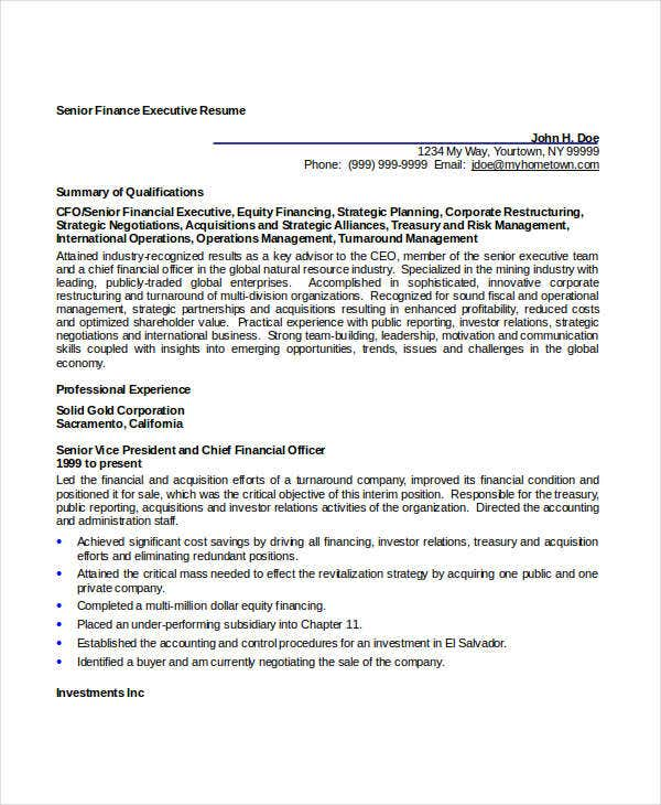 senior finance executive resume4