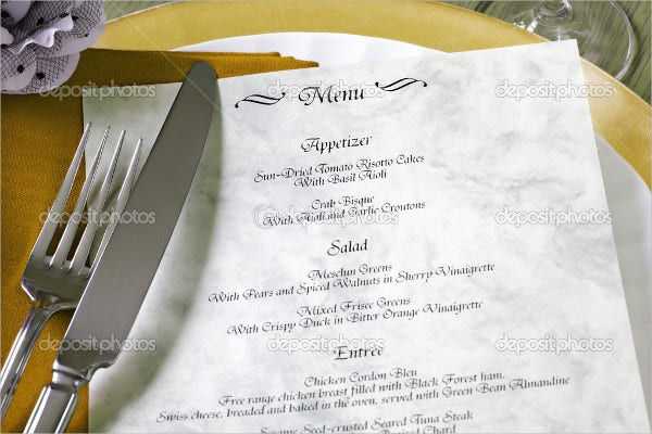reception-event-food-menu