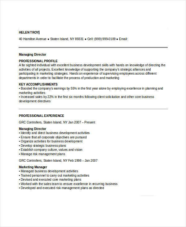 Activities Director Resume. High School Activities Director Cover