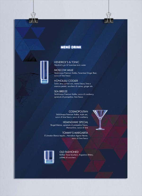 cocktail-drink-party-menu