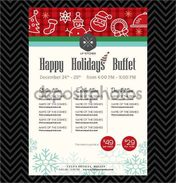 christmas-party-buffet-menu