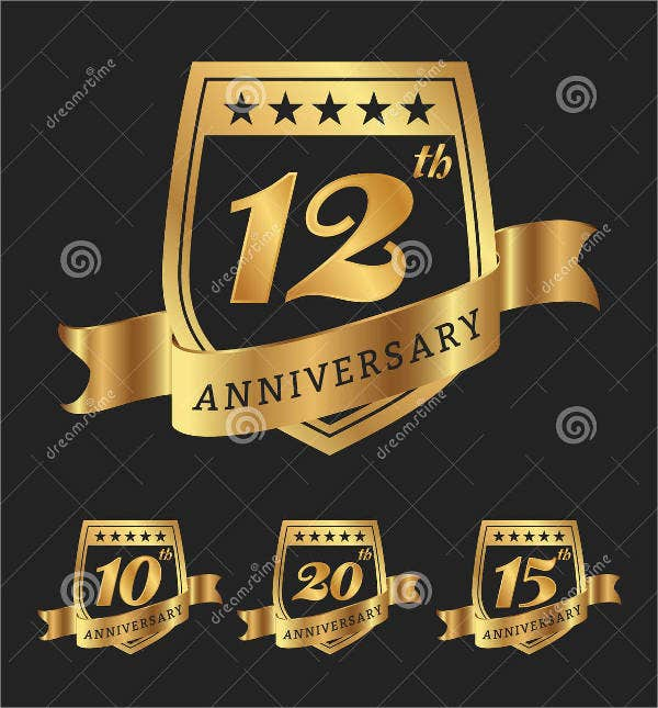 company birthday anniversary logo
