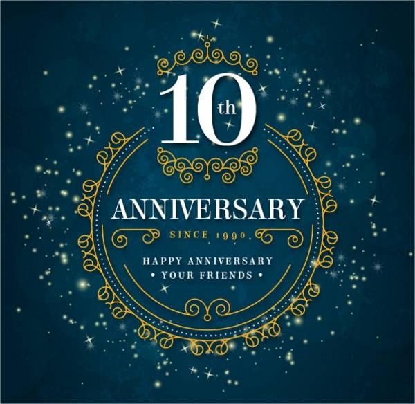 company employee anniversary logo