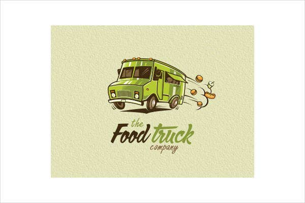 Company Food Truck Logo