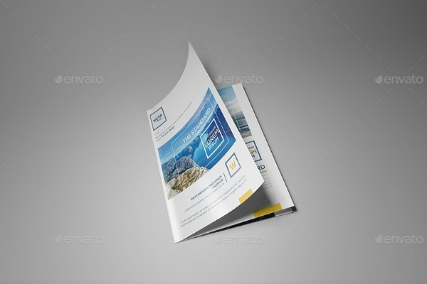 brochure booklet mockup