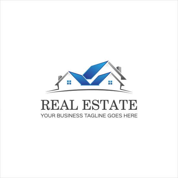 real estate company marketing logo
