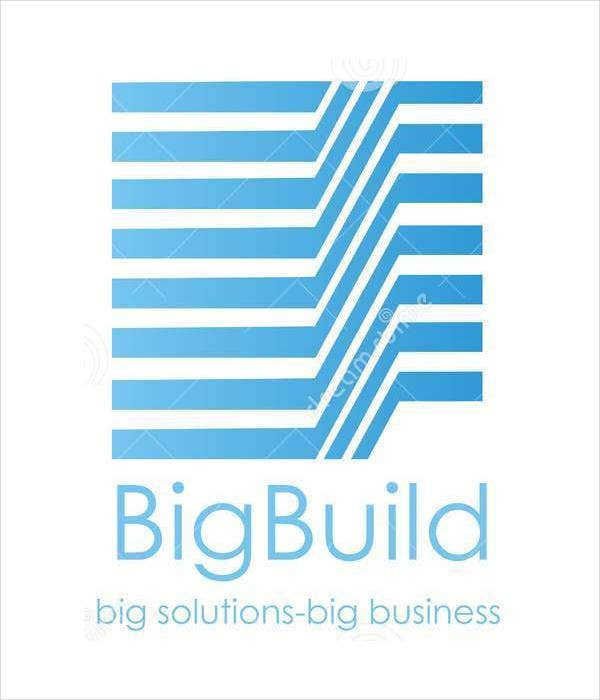 construction company building logo