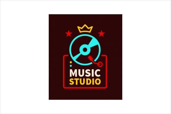 Vintage Company Musical Logo